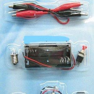 ערכת חשמל לתלמיד + מנוע + נורה קיט