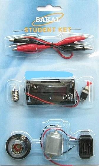 ערכת חשמל לתלמיד + מנוע קיט