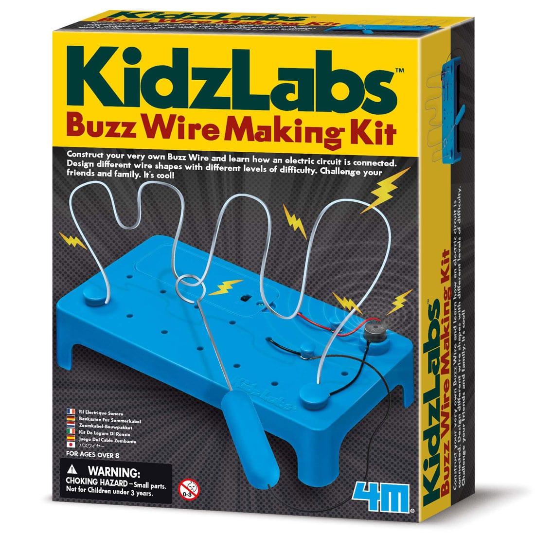 ערכה מדעית לילדים – בניה עצמית מבוך חשמלי 4M