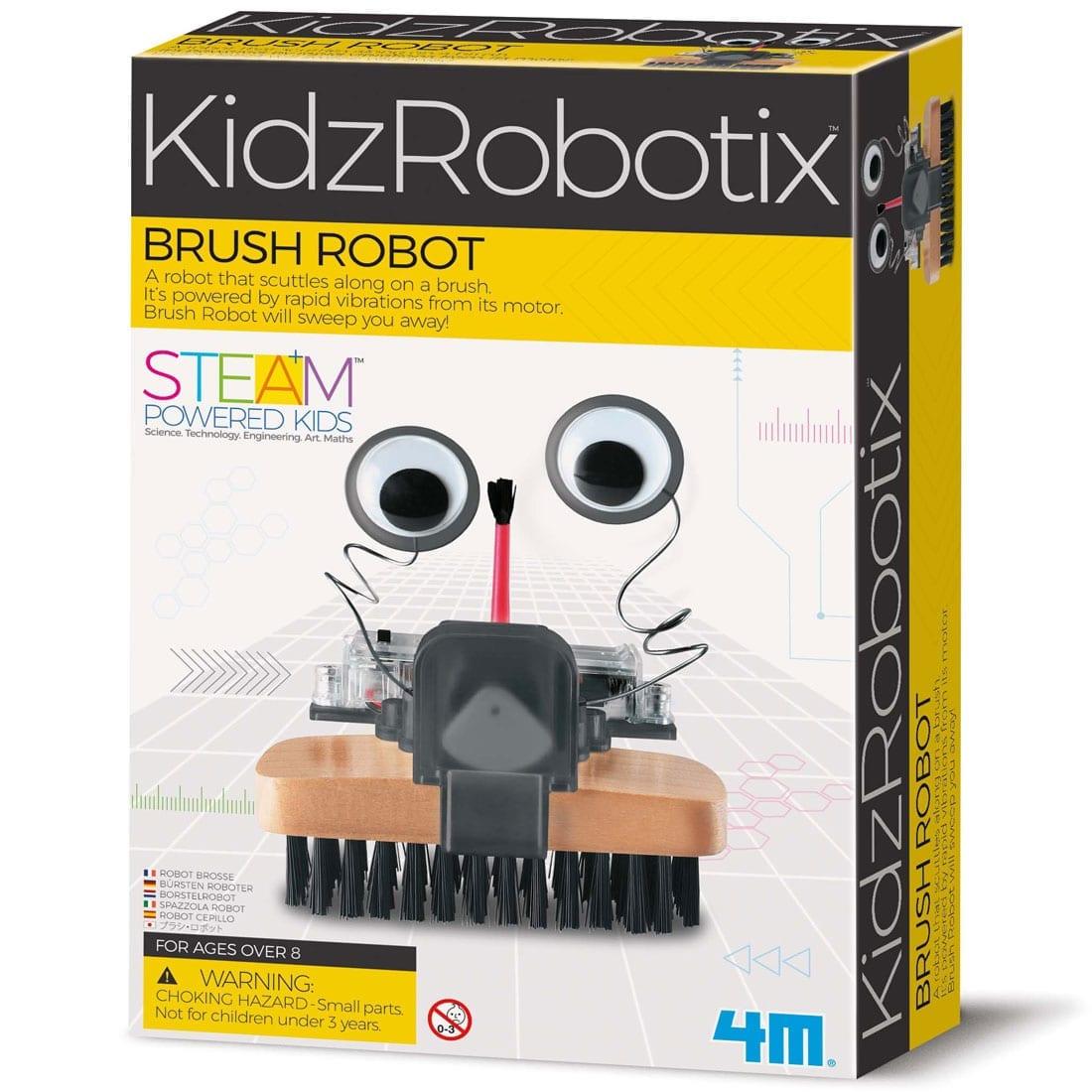 קיט רובוטיקה לילדים – רובוט מברשת 4M