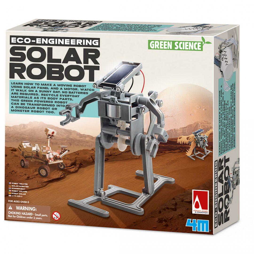 רובוט דינוזאור סולארי