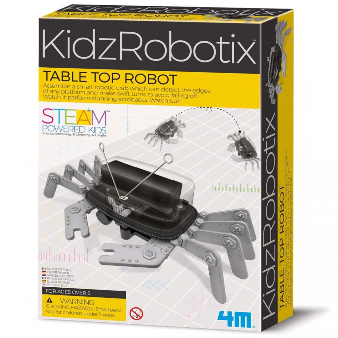 קיט רובוטיקה לילדים – רובוט שולחן ספיידר 4M