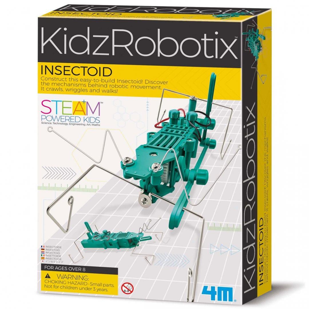 רובוטיקה לילדים – רובוט דמוי חרק 4M קיט בניה