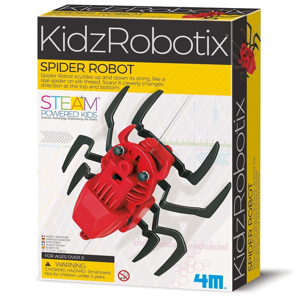 ערכת בניה לילדים רובוט עכביש עולה ויורד 4M