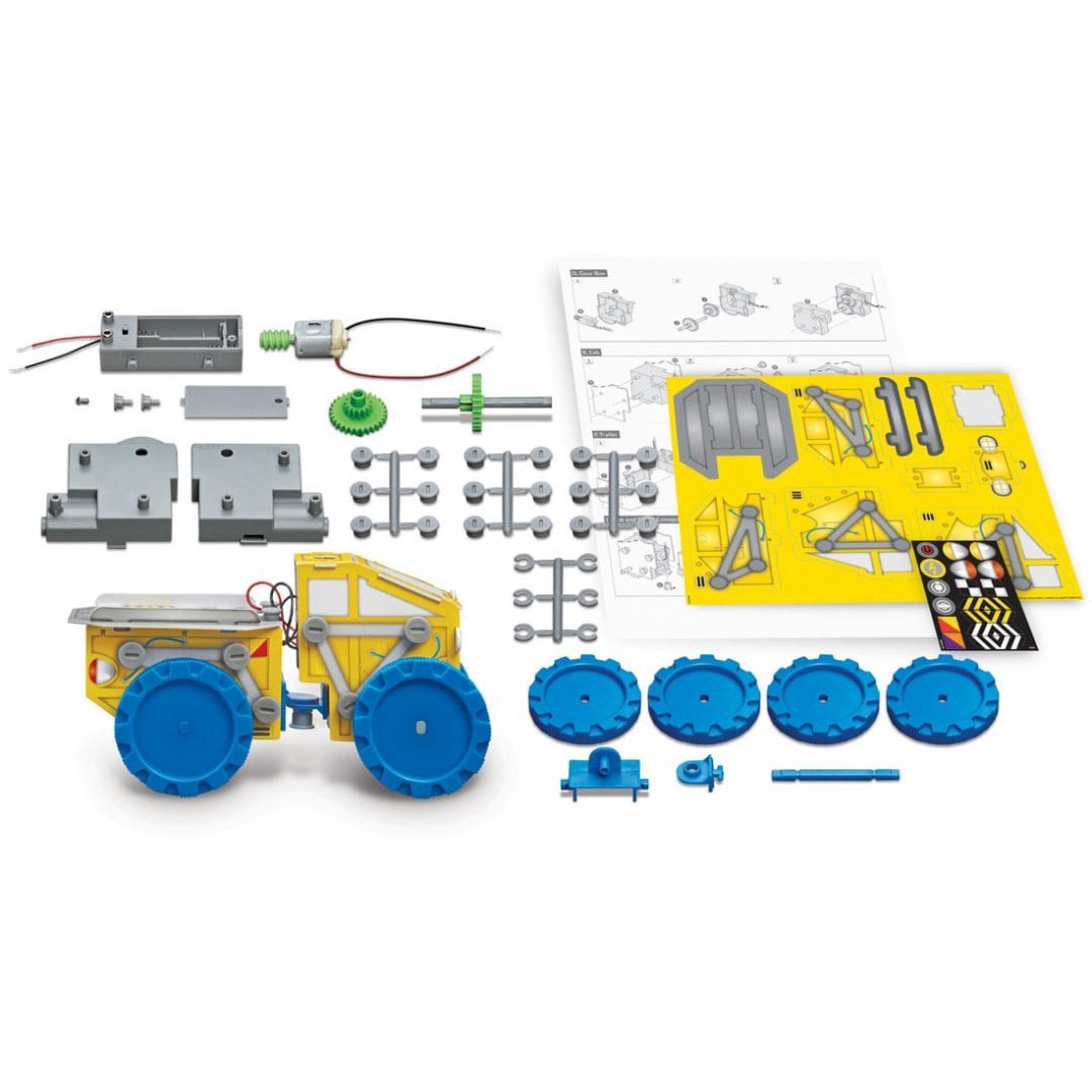 ערכת יצירה לילדים בניה עצמית טרקטור – 4M