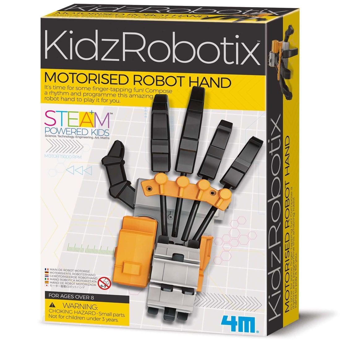 קיט לבניה עצמית – יד רובוטית ממונעת חשמלית 4M