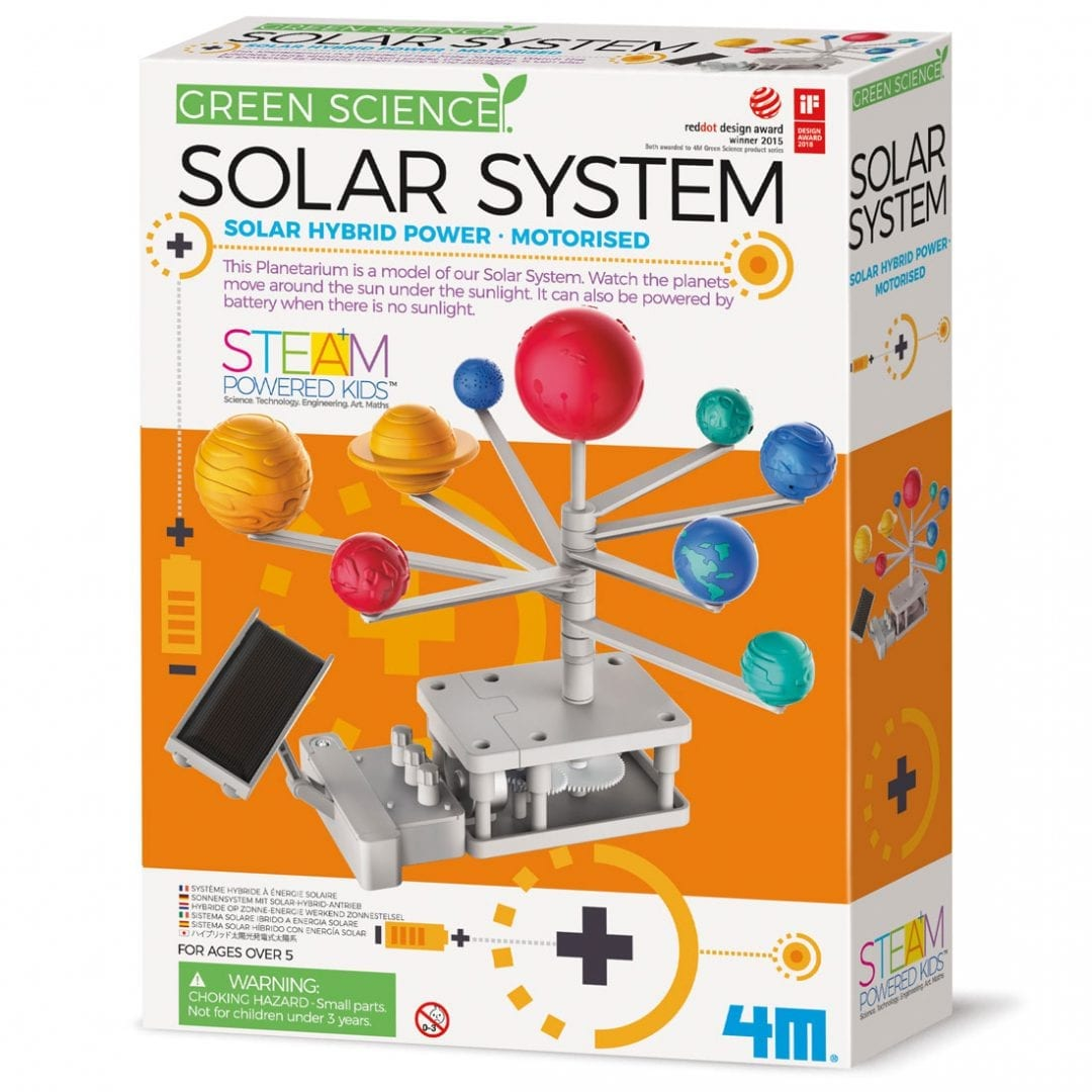 קיט הרכבה לילדים מערכת השמש סולרית היברידית 4M