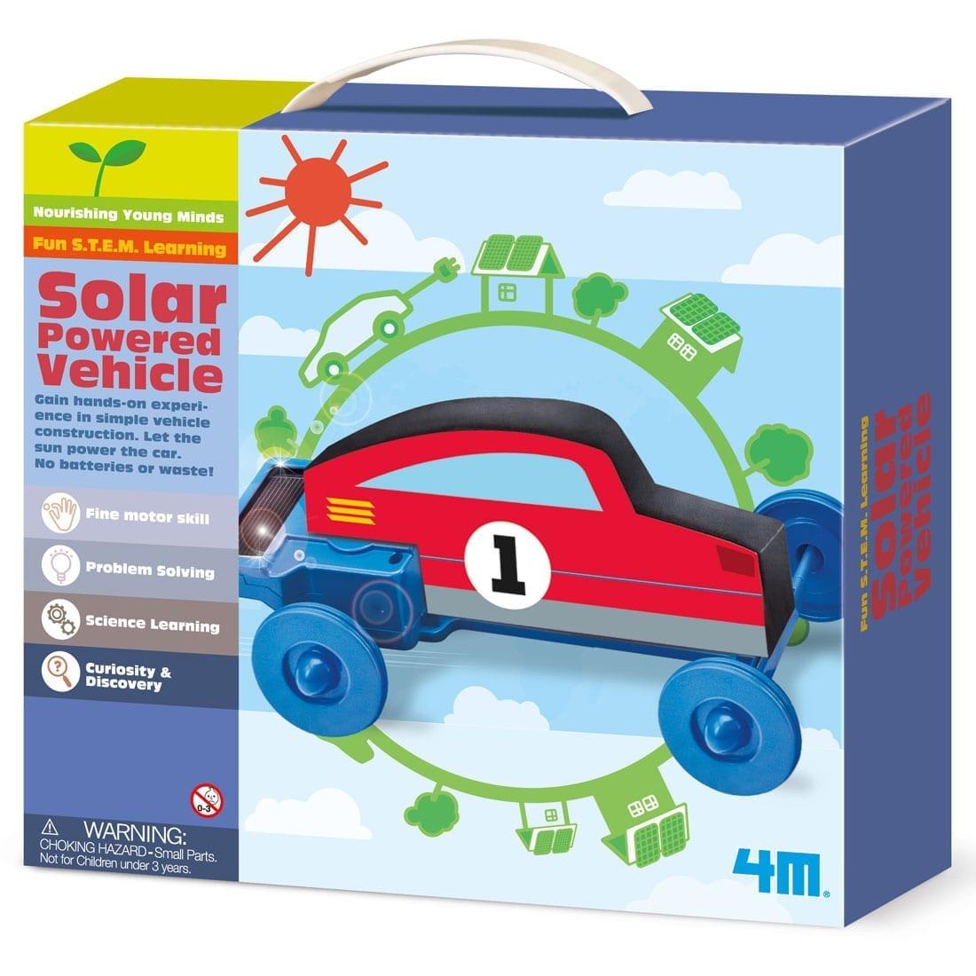 רכב מונע סולארי קיט יצירה לילד 4M – מכונית סולארי