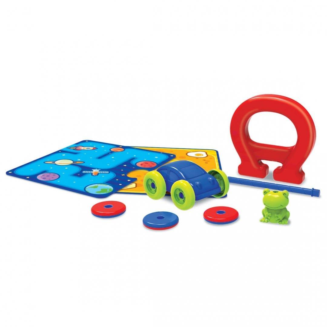 ערכת מדע לילדים ומשחק לימוד מגנטי בית 4M