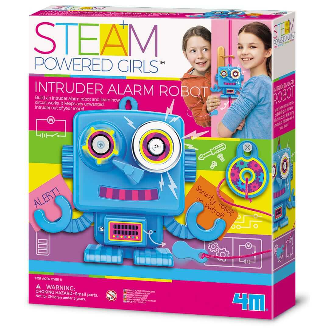 בניית רובוט מערכת אזעקה – ערכת רובוטיקה לילדים