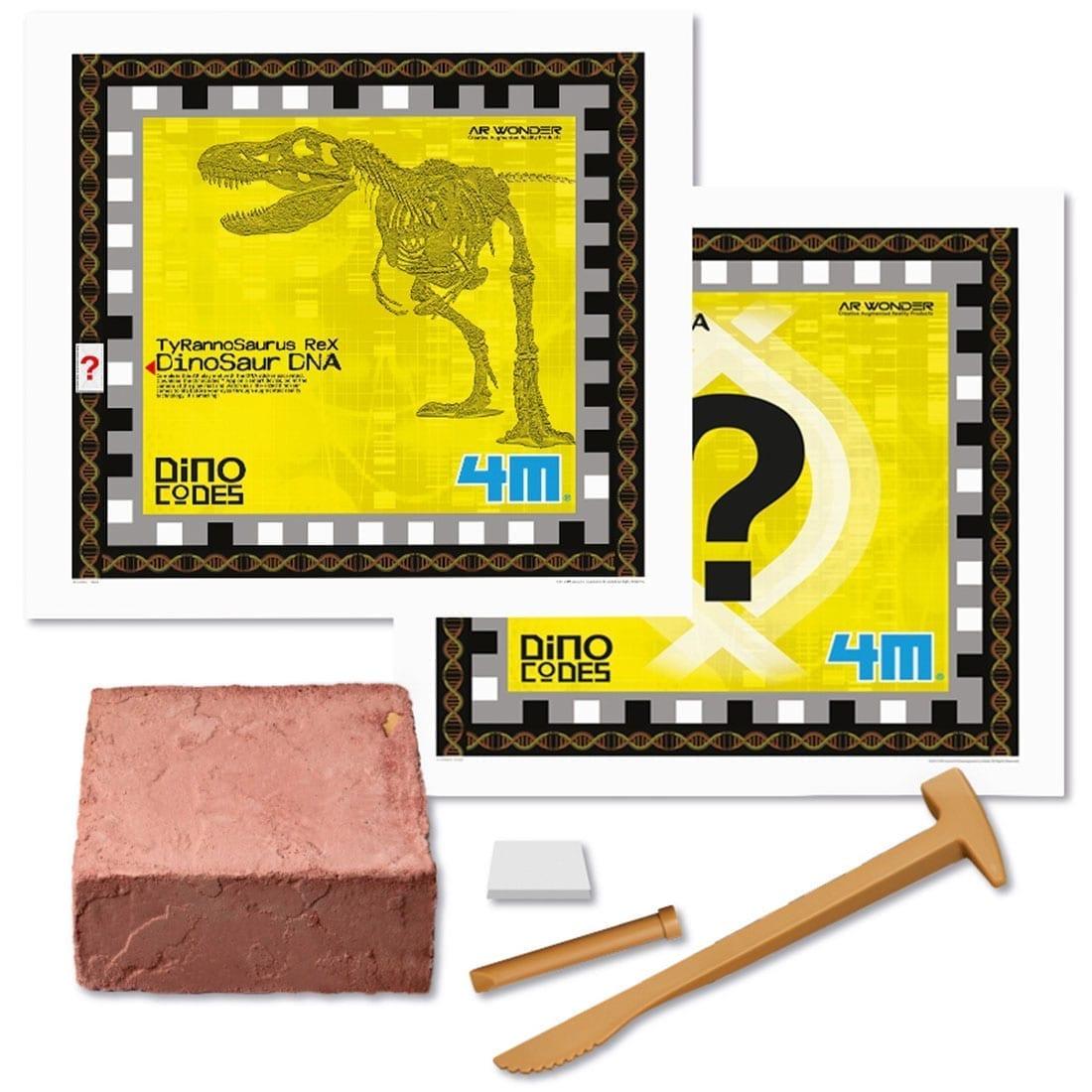 קיט יצירה ארכיאולוגית – לחפור ולגלות טירנוזאורוס רקס DNA