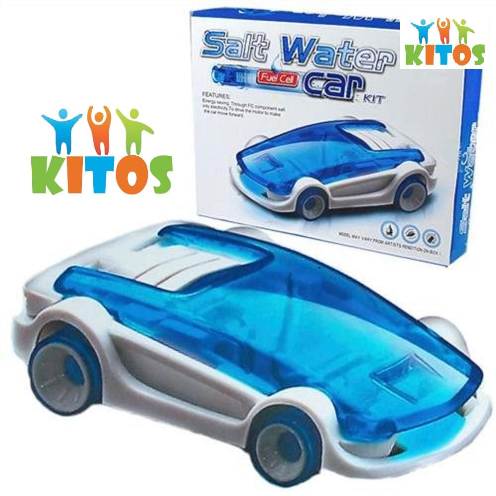 ערכת DIY לילד מכונית צעצוע מונעת במי מלח