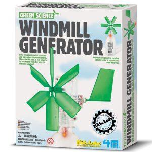 גנרטור תחנת רוח – ערכת מדע לילדים 4M
