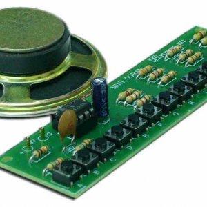קיטים אלקטרונים – מיני אורגן DIY + רמקול