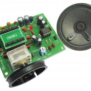 קיטים אלקטרונים לתלמיד – קיט רדיו FM – מגבר ורמקול