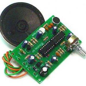 קיטים אלקטרונים – משנה קול רובוטי רמקול – מיקרופון