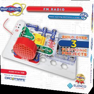 אלקטרוניקה לתלמיד מעגל חשמלי 4 פרוייקטים הרכבה רדיו FM מבית Elanco