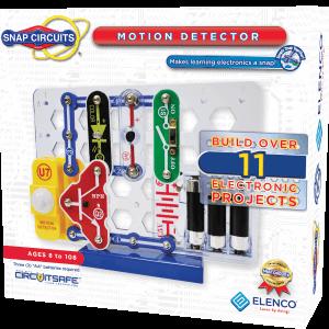 קיט אלקטרוניקה הרכבה לתלמיד מעגל חשמלי 12 פרויקטים גלאי תנועה – Elanco
