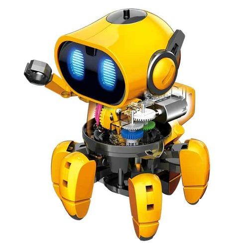 ערכת בנייה והרכבה רובוט חכם המצוייד בחיישנים חכמים – טיבו