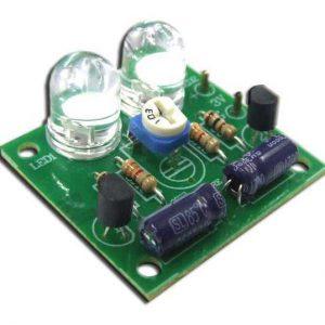 אלקטרוניקה למתחילים – נורות לד ג'מבו DIY