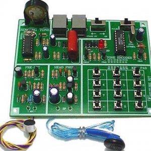 קיט אלקטרוניקה הלחמה – בניית טלפון קווי DIY לתלמיד