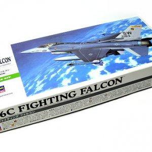 """מודל לבניה מטוס תקיפה F-16C FIGHTING FALCON של צבא ארה""""ב 77 חלקים"""