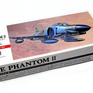 """דגם בניה מטוס תקיפה F-4E PHANTOM II של צבא ארה""""ב 72 חלקים"""