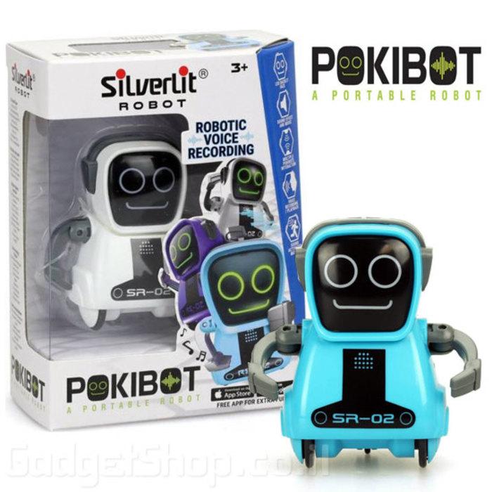 מיני רובוט פוקיבוט מקליט מדבר ומגיב שליטה דרך אפליקציה