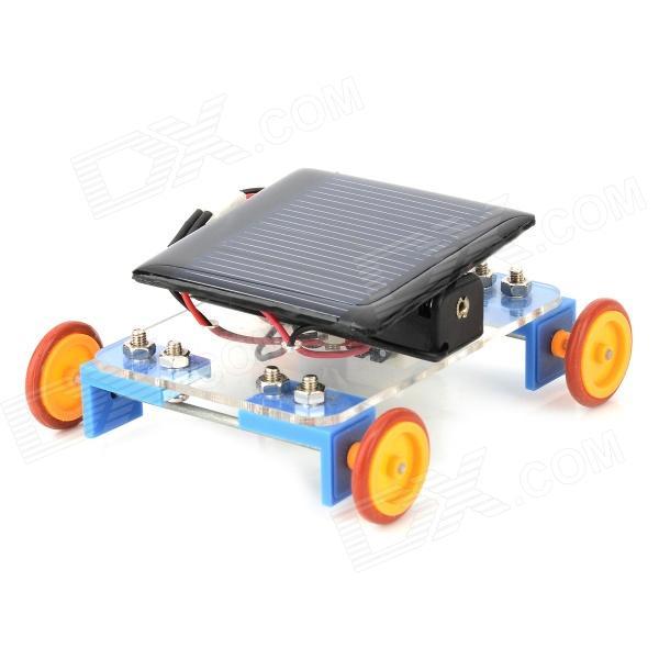 מכונית צעצוע סולארית – ערכה לבנייה עצמית