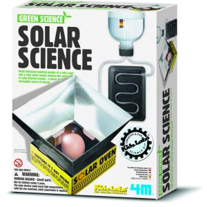 מדע ירוק / תנור סולארי – פרוייקט מדעי לילדים