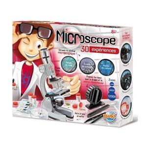 ערכת מדע מיקרוסקופ לילדים הכוללת 30 ניסויים מגוונים – בוקי
