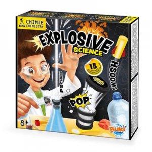 ערכת מעבדה 15 ניסויים מתפוצצים לילדים – BUKI