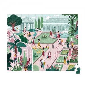 פאזל 200 חלקים – הגן הבוטני – מתנה לילדים גיל 7