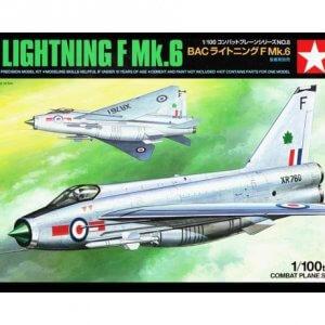 קיט הרכבה לילד מטוס תקיפה מודל BAC Lightning F Mk.6  1:100