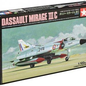 קיט הרכבה לילד מטוס תקיפה מודל  1/100 Tamiya Dassault Mirage 3III