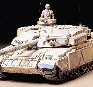 מודל הרכבה לילד טנק CHALLENGER 1 צבא בריטניה דגם TAMIYA 1/35