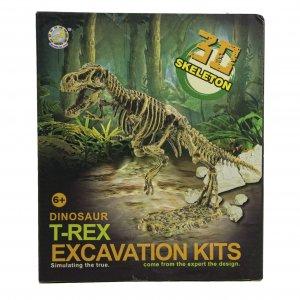 חפירת שלד דינוזאור T-Rex ערכת טבע ומדע