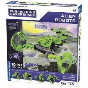 ערכת מדע להרכבת רובוטים חייזרים  10 ב 1 – קוסמוס