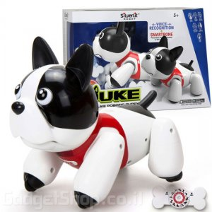 כלב רובוט אינטראקטיבי DUKE מבית SILVERLIT