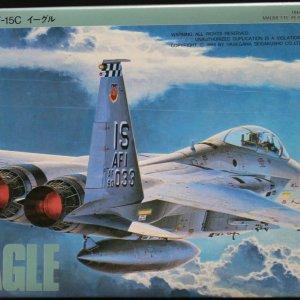 """קיט הרכבה לילד מטוס תקיפה מודל F-15C EAGLE של צבא ארה""""ב 138 חלקים"""