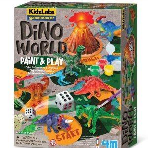 ערכה ליצירת משחק עולם הדינוזאורים