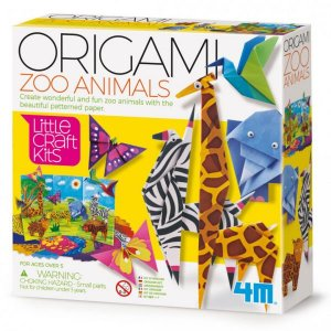 ערכת יצירה לילדים אוריגמי גן החיות