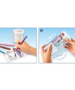 ערכת יצירה לילדים פרוזן 2- ספל לצביעה