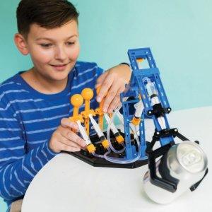 ערכת הרכבה לילדים בניית זרוע הידראולית רובוטית ענקית